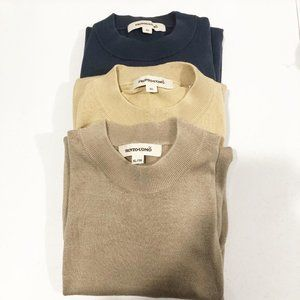 Pronto Uomo | Bundle of 3 Silk Blend Sweaters